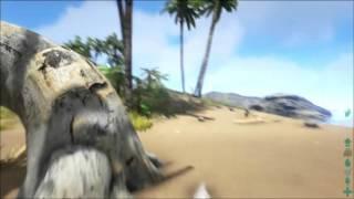ARK Survival Evolved Xbox One Dicas Básicas: Caça, fazer casa, cama, ferramentas etç