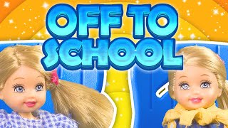 Barbie - The Twins Are Off To School