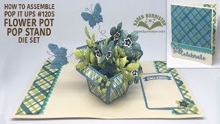 Pop it Ups #1205 Flower Pot Pop Stand