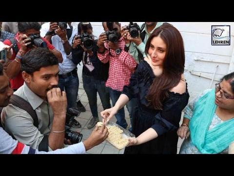 Kareena Kapoor Distributed Sweets Over Taimur's Birth | LehrenTV