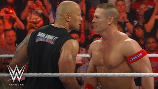 The Rock and John Cena on their epic clash: WWE Network