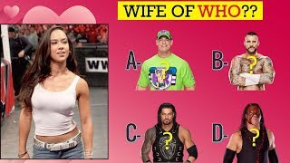 WWE Quiz  - Only True Fans Can Guess All WWE Superstars by their WIFE 2019!