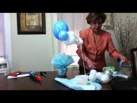 Julyta Star Centro de Mesa para Babyshower