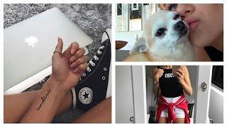 WATCH ME GET A TATTOO | vlog | Chloe Szep