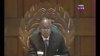 জাতীয় সংসদে আল্লামা দেলোয়ার হোসেন সাইদির বক্তব্য