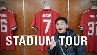 Manchester United Stadium Tour!