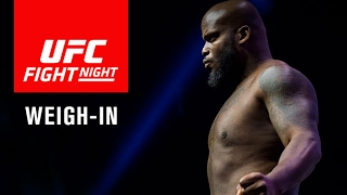 UFC Fight Night Halifax: Official Weigh-in