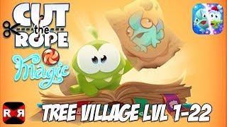 Cut the Rope: Magiс GOLD - Tree Village Lvl 1-22 - 3 Stars Walkthrough Gameplay (Christmas Update)