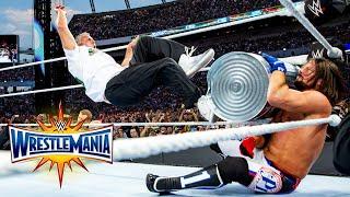 Shane McMahon vs. AJ Styles: WrestleMania 33 (WWE Network Exclusive)