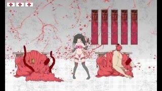 Japanese Hentai Ryona Game「感染屋敷(kansen yashiki)」 not Hentai Scene