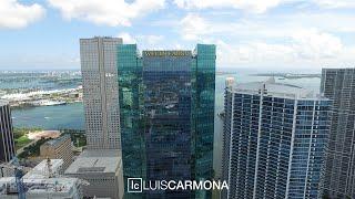 Luis Carmona Present: Up in the Air - Miami River Brickell 4K