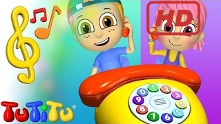 School for Kids |  TuTiTu Toys and Songs for Children | Phone Song