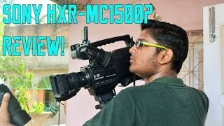 Sony HXR-MC1500P Review!