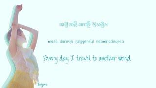 taeyeon make me love you lyrics han rom eng color coded