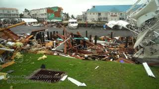 Mexico Beach, FL Massive devastation from Hurricane Michael - 10/10/2018