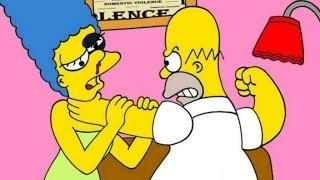 Especial Haloween/CrazyNightmare Creepypasta#6 El Divorcio De Homero Y Marge Simpsom