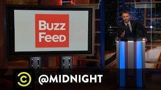 BuzzFeed Headlines For Bazillionaires - @midnight with Chris Hardwick
