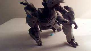 Transformers steelbane trailer stop motion
