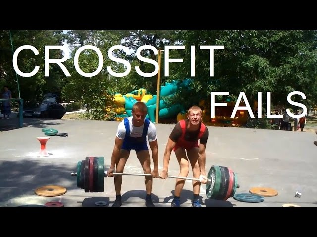 Crossfit & Weightlifting fail compilation