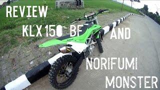 Review Motor KLX 150BF & Knalpot NORIFUMI MONSTER