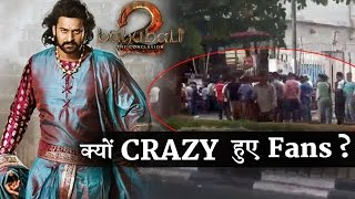 Fans crazy love for Baahubali 2