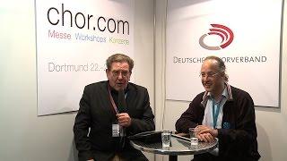 chor.com 2011 in Dortmund. Theos Talk mit Michael Betzner-Brandt