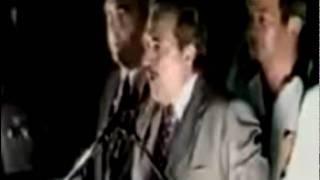 Discurso de Raúl Alfonsín en el cierre de campaña en el Obelisco (restaurado)