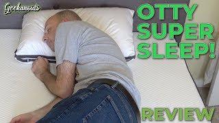 Otty Hybrid Mattress & Adjustable Pillow Review