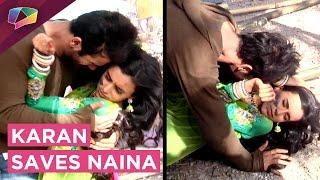 Karan Tries To Save Naina   INJURED   Swabhimaan   Colors Tv