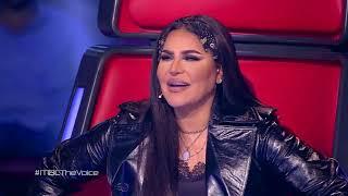 ذا فويس - سالي منصور - فؤاد القريتلي - i can