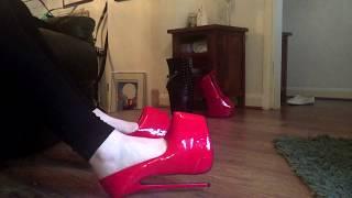 my extreme heels - 9 inch stiletto platforms