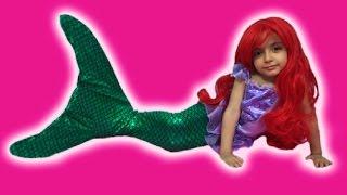 Disney Frozen Elsa MERMAID Videos In Real Life + Swimming Tail +Ariel Mermaid + TREASURE HUNT + Toys