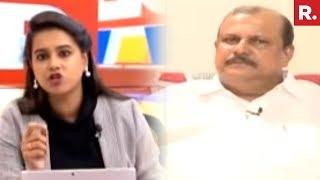 Republic TV Confronts Kerala MLA PC George   #BishopTargetsNun