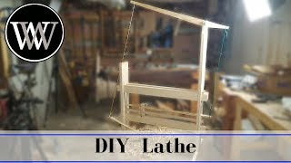 How To Make a Spring Pole Lathe Part 4 | Foot Powered Hand Tool Woodworking