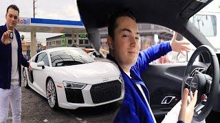 I GOT A NEW 2017 AUDI R8!? (SUPER CAR)