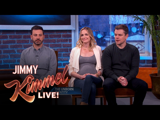 Who's The Baby Daddy: Jimmy Kimmel or Matt Damon?
