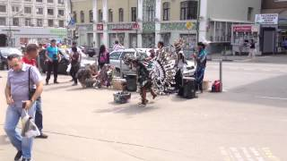 Indian dances in Moscow