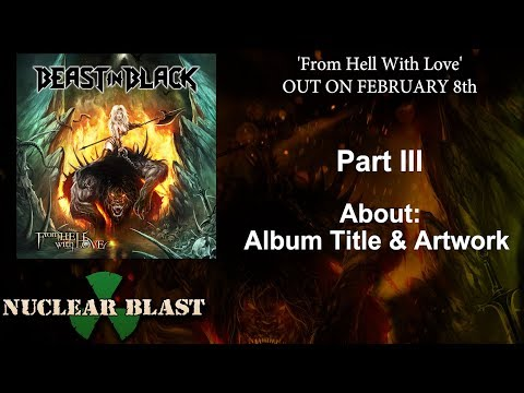 BEAST IN BLACK - 'From Hell With Love' - Album Title & Artwork (OFFICIAL TRAILER #3)