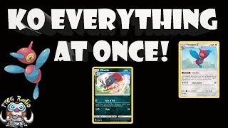 Crazy New Deck can KO Every Pokemon at Once! (Weavile + Porygon = Madness!)