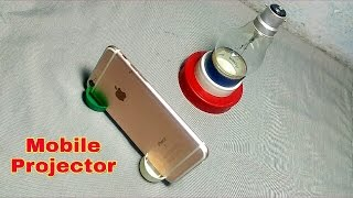 Easy Home made Mobile projector in 2 minute