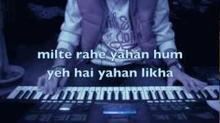 Solah baras ki baali umar ko salaam on keyboard