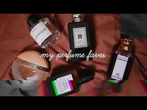 愛用香水TOP5 | MY PERFUME FAVORITES | manjumilin