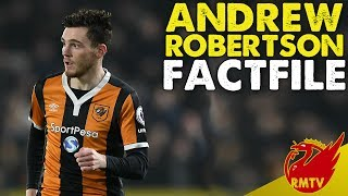 Andrew Robertson Factfile