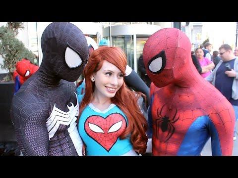Xxx Mp4 Spider Man Spider Verse Flash Mob Prank 3gp Sex