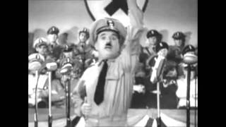 The Great Dictator - Fake German Speech Scene (No