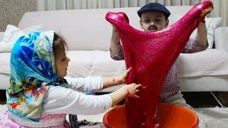 Ali baba kızı ile gizli SLİME yaparsa ...