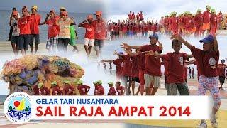 (Behind The Scene) Gelar Tari Nusantara, Sail Raja Ampat 2014 by MAM EO