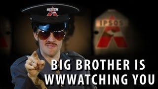 Big Brother is WWWatching You - feat. George Orwell [RAP NEWS 15]