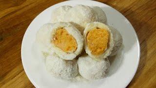 How to make Raskadam Misti/রসকদম মিষ্টি রেসিপি/Rosh Kodom Recipe/Sweet Recipe