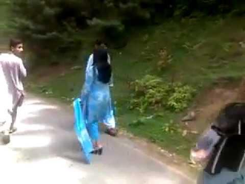 Angry Salma Shah in Murree Video by Salma Shah